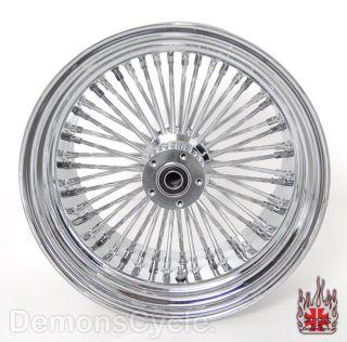 Chrome Fat Mammoth Wheels 21x3 18x10 5 48 Spokes 300 Wide Fit Custom