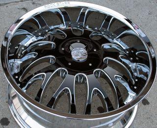 RVM 525 22 Chrome Rims Wheels Lincoln Navigator