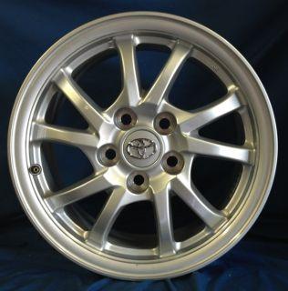 16 Toyota Prius V 2012 OE Silver Wheels 4 Rims