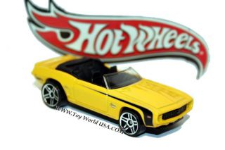 Hot Wheels 69 Chevy Camaro Conv Chevy Pack Exclusive