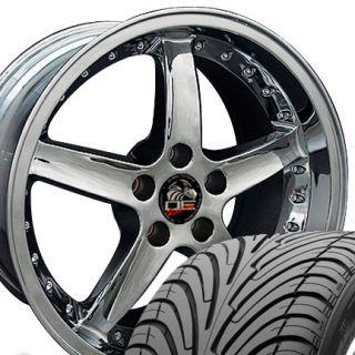 10 Chrome Cobra Wheels Nexen Tires Rims Fit Mustang® 94 04