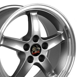 17 9 10 5 Gunmetal Cobra Wheels Rims Fit Mustang® GT 94 04