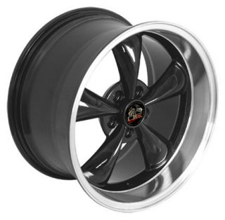 10 Black Bullitt Wheels Bullet Rims Fit Mustang® GT 94 05