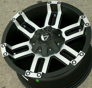 Fuel Gauge D504 18 Black Rims Wheels RAM 3500 8H 03 10 18 x 9 0 8H 12