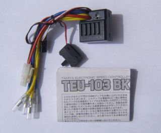 Tamiya Twin 2 Motor RC ESC TEU 103BK for Clod Buster RC Monster Truck