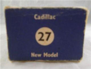 Vintage Moko Lesney Matchbox New Model No 27 Light Green Cadillac GPW