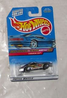Mattel 1999 Hot Wheels Mad Maniax Series Camaro Z28 Diecast