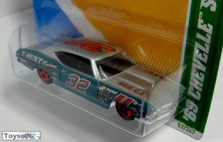 RARE Hot Wheels Treasure Hunt TH 2012 69 Chevelle SS 3 OF15 Tampo