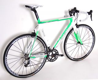 2013 STRADALLI Verona Shimano 105 Microshift Carbon Road Bike Bicycle