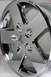 Chrome 17 Jeep Wrangler Wheel 9075 1BZ81TRMAB