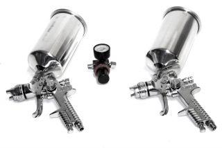 PC HVLP Air Spray Paint Gun 1 4 1 7 Sprayer Tools
