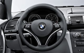 BMW Genuine Steering Wheel Cover Trim Black 1 3 Series x1 32300415491
