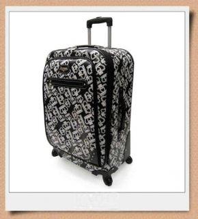Kathy Van Zeeland My Mink 2pc Luggage Set 25 Domebag