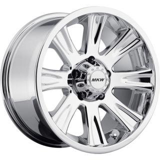 18x9 Chrome Wheel MKW Offroad M87 6x5 5
