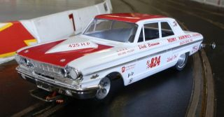 824 Dick Brannan 1964 Thunderbolt 1 24th Scale Custom Built Slot Car