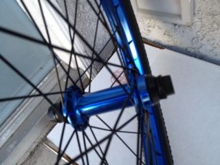 United 36 Wheel Set Bikes Blue Wheels Odyssey Profile Front Back 9