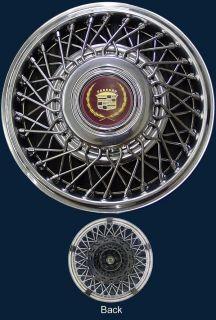 86 88 Cadillac Deville 88 Eldorado / Seville 14 2050B Wire Hubcap