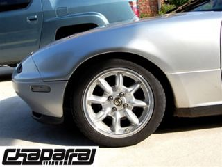 Mazda Miata Wheel 90 05 Chaparral S15 Champagne Finish