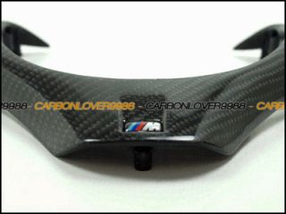 E93 M3 ZCP GTS CRT Carbon Fiber Replacement Steering Wheel Trim