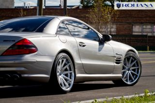20 niche apex concave rims mercedes benz sl cls 350 500 for Mercedes benz apex