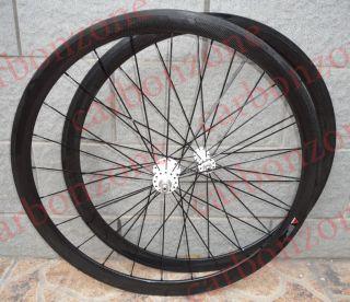 38mm 700c Full Carbon Road TT Bike Tubular Wheels Wheelsets