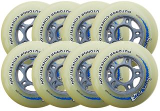 Elite Racing Inline Wheels 84mm 85A Speed 608 8 Wheel