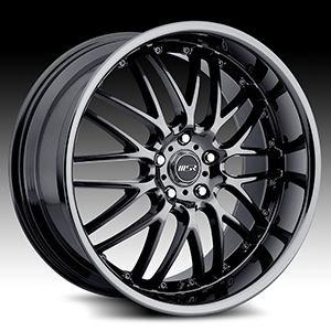 Magnum 300C Charger Ford 20 Wheels Rims Black Chrome