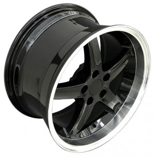 Black Cobra Deep Wheels Nexen Tires Rims Fit Mustang® 94 04