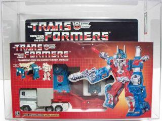 Transformers Gen 1 Ultra Magnus Autobot MISB AFA 85