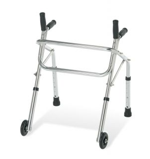 Tyke Pediatric Junior Walker with Wheels Non Folding Child