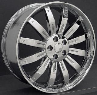 22 Chrome Wheel Rim Fits Range Land Rover HSE Sport LR3 LR4