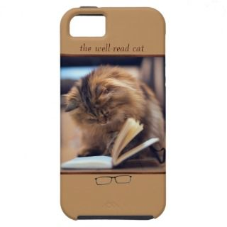 Reading Cat iPhone 5 Vibe Case iPhone 5 Case