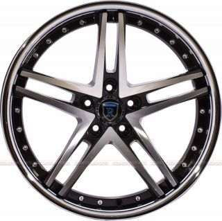 RC5 Wheels Rohana Lexus Infiniti Lexus Honda 5x114 Wheels Rims