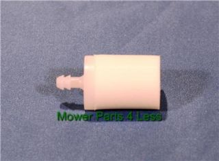 Universal Fuel Filter for 2 Cycle Engines Used on Trimmers and