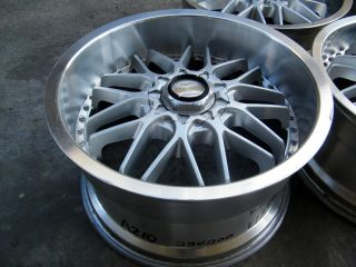 MANARAY SPORTS MJ9 SUPER MESH WHEELS 17x8.5/ 17x9.5 +33ET WIDE BODY