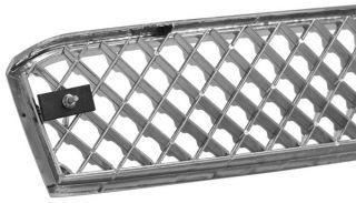 Chrome ABS Mesh Grille 03 05 Chevy Silverado Avalanche