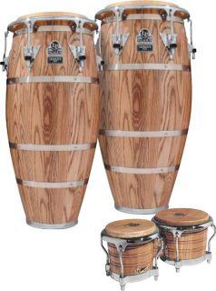 LP Latin Percussion Palladium Conga Set w Bongos