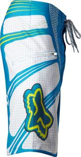 Fox Racing Mens TS Boardshort Electric Blue Trunks Board Shorts 41053
