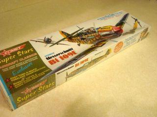 Comet Messerschmitt BF 109E Balsa Model Airplane Kit Unopened