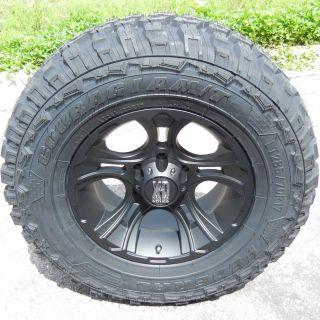 18 XD Crank Wheels 35 Federal M T Tires Toyota Tacoma Titan GMC