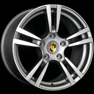 20 Porsche TURBO2 Style Wheel Machined Face Fit Porsche Cayenne s GTS