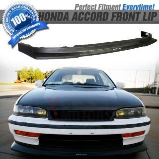 Fit 90 93 Honda Accord HC1 Style Front Bumper Lip Spoiler PP