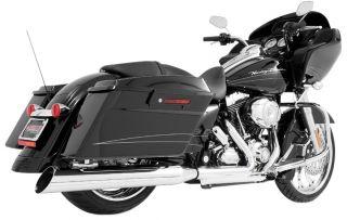 Freedom Performance 4in Classic Slip Ons Inverted Slash HD00140 Harley
