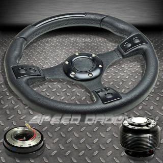 320mm Steering Wheel Hub Quick Release Civic EK Delsol Integra DC