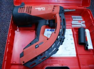 Hili GX 120 Gas Acuaed Nail Gun wih Accessories