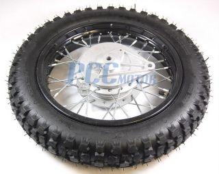 12 Rear Rim Wheel Spoke Drum Brake Pit Bike China 125