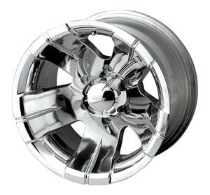 Detroit Wheels 138 5861P 138 Series Polished Wheel