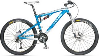 New Jamis Dakar XC Comp 17 Full Suspension Mountain Bike MSRP $1650