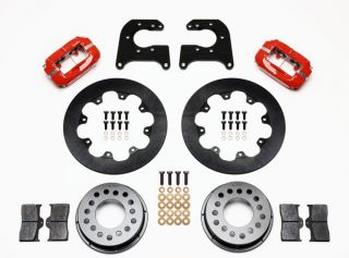 Wilwood Drag Disc Brake Kit Rear Mopar Dana 60 2 50 11 44 Rotors Red