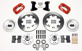 Wilwood Disc Brake Kit Front 74 80 Pinto 12 Rotors Red Calipers Ford